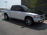 2005 Bright White Dodge Ram 1500 SLT Quad Cab #7138146