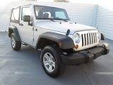 2012 Bright Silver Metallic Jeep Wrangler Sport 4x4 #71744983