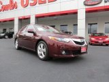 2010 Basque Red Pearl Acura TSX Sedan #71744540
