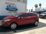 2013 Ruby Red Ford Fiesta SE Hatchback #71744512