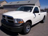 2009 Stone White Dodge Ram 1500 ST Regular Cab 4x4 #7150690