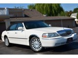 Ceramic White Tri Coat Lincoln Town Car in 2003