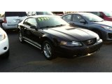 2002 Black Ford Mustang V6 Coupe #71745281