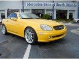 2001 Sunburst Yellow Mercedes-Benz SLK 230 Kompressor Roadster #71744457