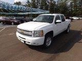 2013 Summit White Chevrolet Silverado 1500 LT Crew Cab 4x4 #71745263