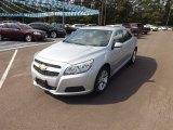 2013 Silver Ice Metallic Chevrolet Malibu LT #71745261