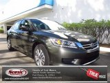 2013 Hematite Metallic Honda Accord LX Sedan #71744417