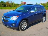 2010 Navy Blue Metallic Chevrolet Equinox LT #71745239