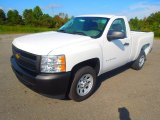 2013 Summit White Chevrolet Silverado 1500 Work Truck Regular Cab #71745235
