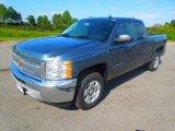 2013 Blue Granite Metallic Chevrolet Silverado 1500 LT Extended Cab #71745231