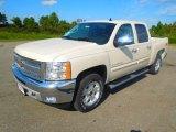2013 White Diamond Tricoat Chevrolet Silverado 1500 LT Crew Cab #71745230