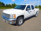 2013 Summit White Chevrolet Silverado 1500 LT Crew Cab 4x4 #71745227