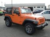 2013 Jeep Wrangler Crush Orange