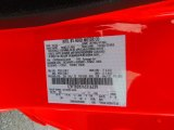 2006 Mustang Color Code for Torch Red - Color Code: D3