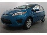 2013 Blue Candy Ford Fiesta SE Hatchback #71744362