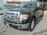 2011 Ebony Black Ford F150 Lariat SuperCrew 4x4 #71745172