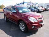 2010 Cardinal Red Metallic Chevrolet Equinox LTZ AWD #71819642