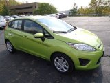 2013 Lime Squeeze Ford Fiesta SE Hatchback #71819348
