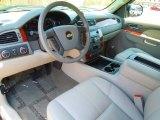 2010 Chevrolet Silverado 1500 LTZ Extended Cab 4x4 Light Titanium/Dark Titanium Interior