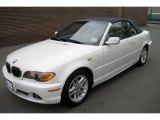 2004 Alpine White BMW 3 Series 325i Convertible #71819595