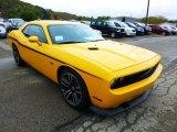 2012 Dodge Challenger SRT8 Yellow Jacket Front 3/4 View