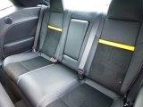 2012 Dodge Challenger SRT8 Yellow Jacket Rear Seat