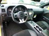 2012 Dodge Challenger SRT8 Yellow Jacket Dark Slate Gray Interior