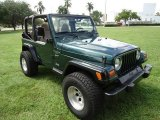 1999 Jeep Wrangler Forest Green Pearlcoat