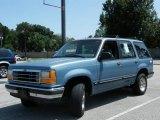 1991 Ford Explorer Light Crystal Blue Metallic