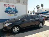 2013 Tuxedo Black Ford Focus S Sedan #71819310