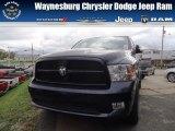 2012 True Blue Pearl Dodge Ram 1500 Express Quad Cab 4x4 #71852906