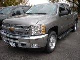 2013 Graystone Metallic Chevrolet Silverado 1500 LT Crew Cab 4x4 #71852839