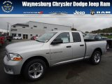 2012 Bright Silver Metallic Dodge Ram 1500 Express Quad Cab 4x4 #71852884