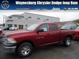 2012 Deep Cherry Red Crystal Pearl Dodge Ram 1500 ST Quad Cab 4x4 #71852904