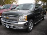 2013 Fairway Metallic Chevrolet Silverado 1500 LT Crew Cab 4x4 #71852827