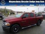 2011 Deep Cherry Red Crystal Pearl Dodge Ram 1500 ST Crew Cab 4x4 #71852941