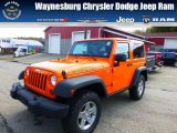 2012 Crush Orange Jeep Wrangler Rubicon 4X4 #71852877