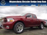 2012 Deep Cherry Red Crystal Pearl Dodge Ram 1500 Express Quad Cab 4x4 #71852897