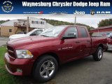 2012 Deep Cherry Red Crystal Pearl Dodge Ram 1500 Express Quad Cab 4x4 #71852912