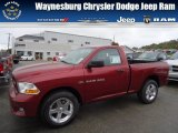 2012 Deep Cherry Red Crystal Pearl Dodge Ram 1500 Express Regular Cab 4x4 #71852890