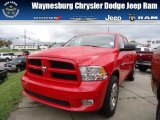 2012 Flame Red Dodge Ram 1500 Express Crew Cab 4x4 #71852908