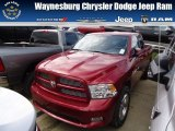 2012 Deep Cherry Red Crystal Pearl Dodge Ram 1500 Sport Quad Cab 4x4 #71852907