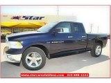 2012 True Blue Pearl Dodge Ram 1500 Lone Star Quad Cab #71860853