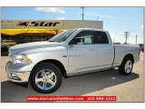 2012 Bright Silver Metallic Dodge Ram 1500 Lone Star Quad Cab #71860848