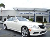 2013 Diamond White Metallic Mercedes-Benz S 550 Sedan #71860552