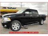 2012 Black Dodge Ram 1500 Laramie Limited Crew Cab 4x4 #71860844