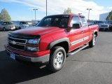 2007 Victory Red Chevrolet Silverado 1500 Classic Z71 Extended Cab 4x4 #71860935
