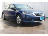 2013 Obsidian Blue Pearl Honda Accord LX Sedan #71860639