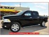 2012 Black Dodge Ram 1500 Laramie Limited Crew Cab #71860835