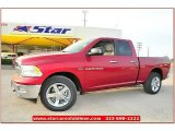 2012 Deep Cherry Red Crystal Pearl Dodge Ram 1500 Lone Star Quad Cab 4x4 #71860833